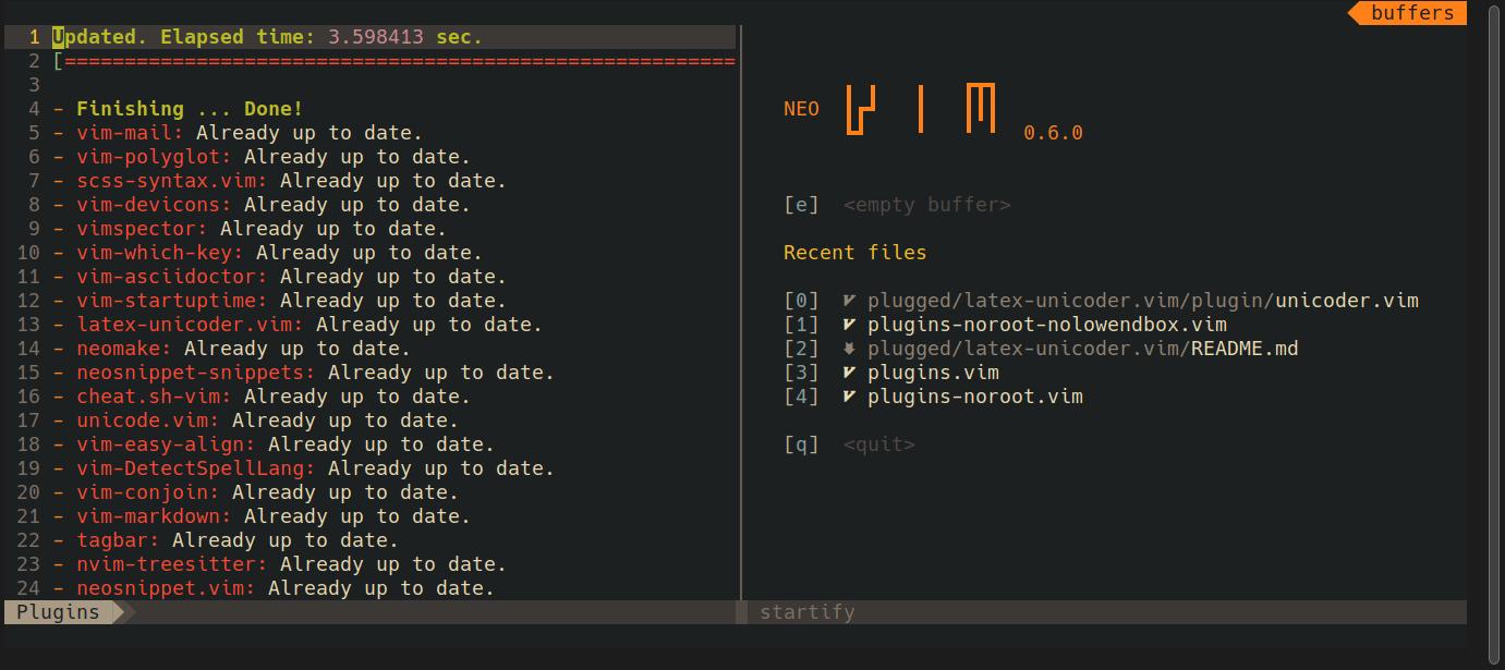A demo screenshot