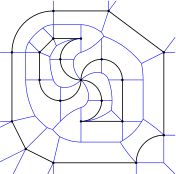 Voronoi diagram and offset curves