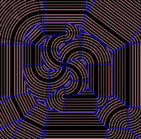 generalized voronoi diagramsvoronoi diagram and offset curves